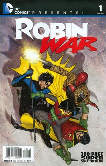 DC Comics Presents: Robin War 100-Page Super Spectacular 1-A by DC