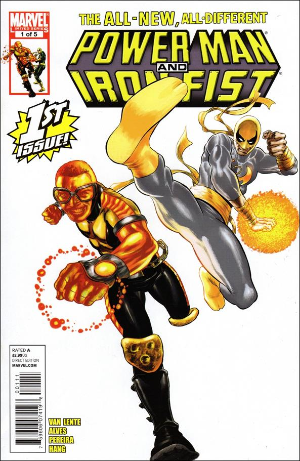 Power Man and Iron Fist (2011) 1-A by Marvel
