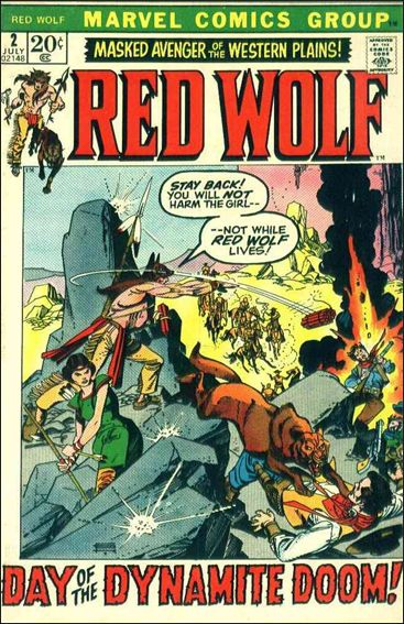 Red Wolf (1972) 2-A by Marvel