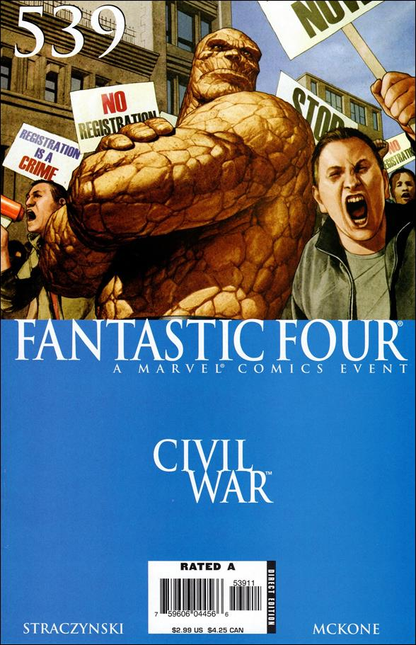 Fantastic Four (1961) 539-A by Marvel