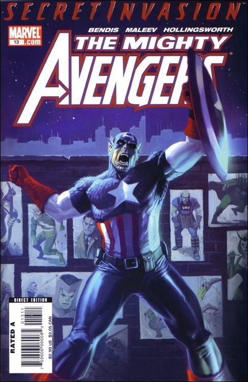 Mighty Avengers 13-A by Marvel