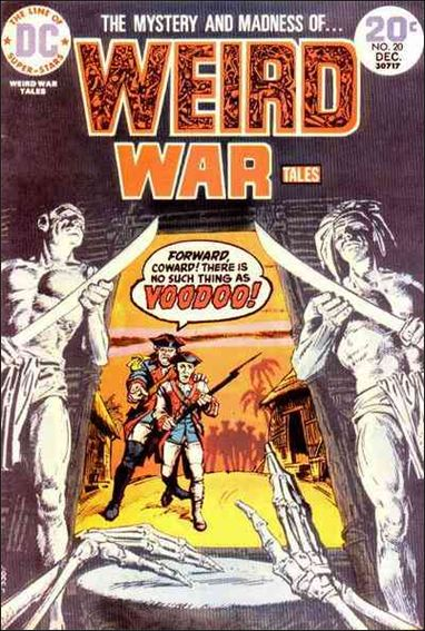 Weird War Tales (1971) 20-A by DC