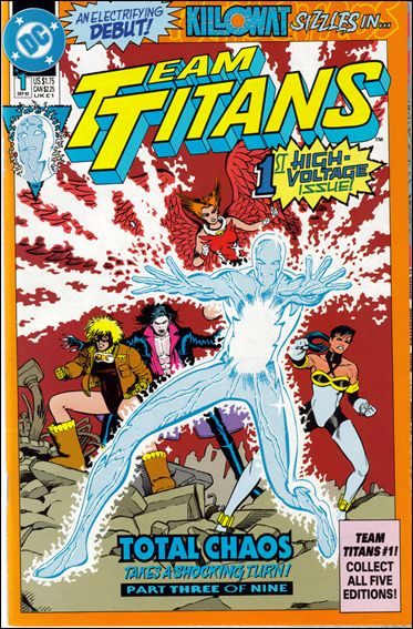 Team Titans 1-A by DC
