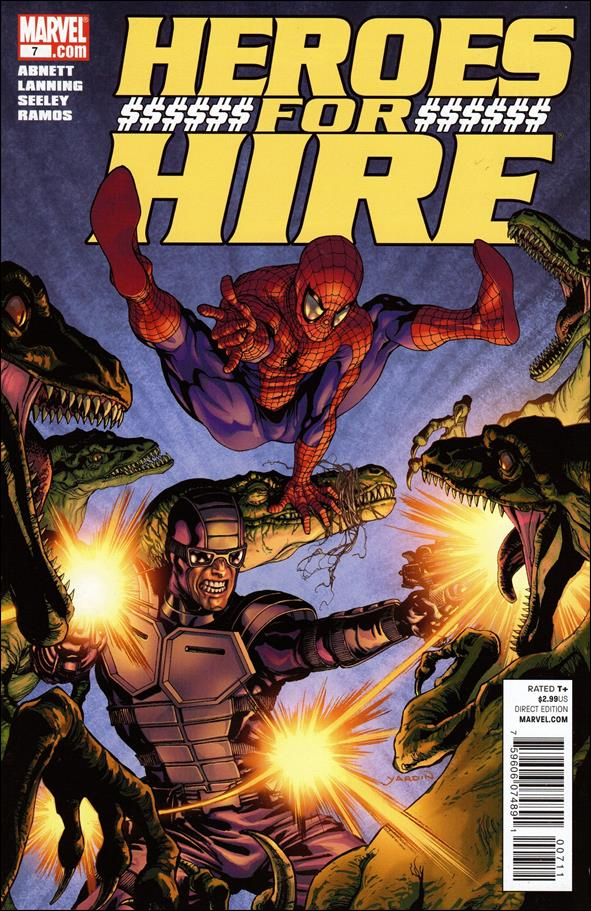 Heroes for Hire (2011) 7-A by Marvel