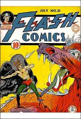 Flash Comics (1939) 31-A by DC