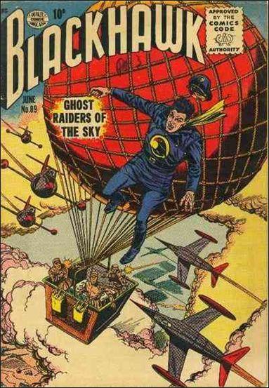 Blackhawk (1944) 89-A by DC