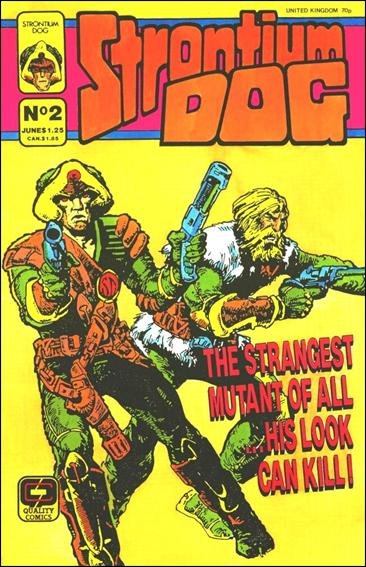 Strontium Dog (1987) (UK) 2-A by Quality Comics