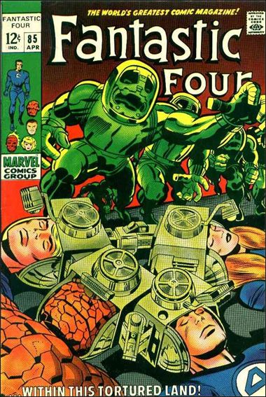 Fantastic Four (1961) 85-A by Marvel