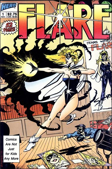 Flare (1988) 1-A by Hero Comics
