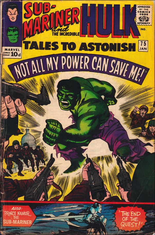 Tales to Astonish (1959) 75-B by Marvel