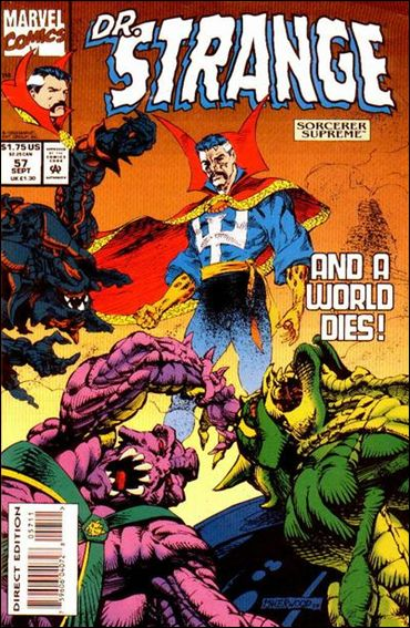 Doctor Strange, Sorcerer Supreme 57-A by Marvel