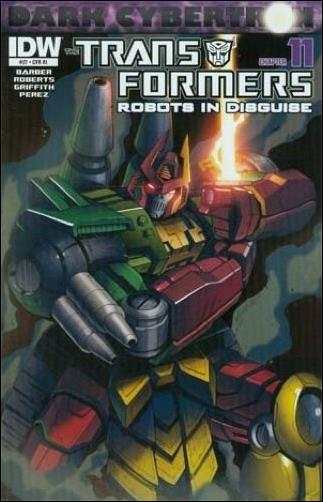 Transformers: Robots in Disguise 27-B by IDW