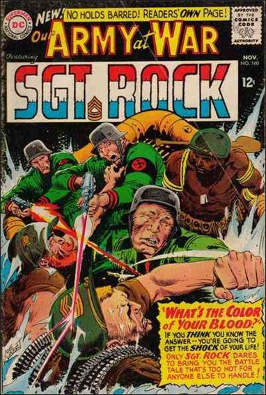 Our Army at War (1952) 160-A by DC