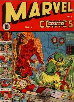 Marvel Mystery Comics (1939) 7-A