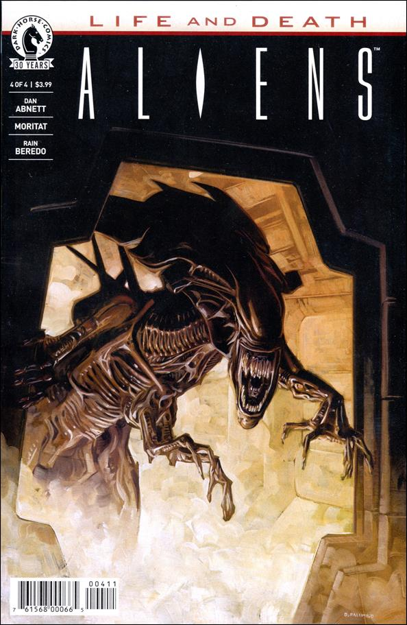 Aliens: Life and Death 4-A by Dark Horse