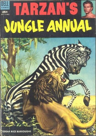 Tarzan's Jungle Annual 2-A by Dell