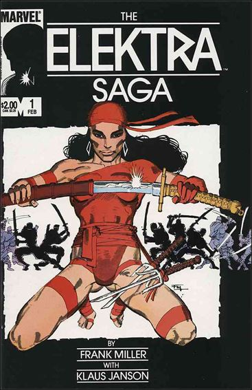 Elektra Saga 1-A by Marvel