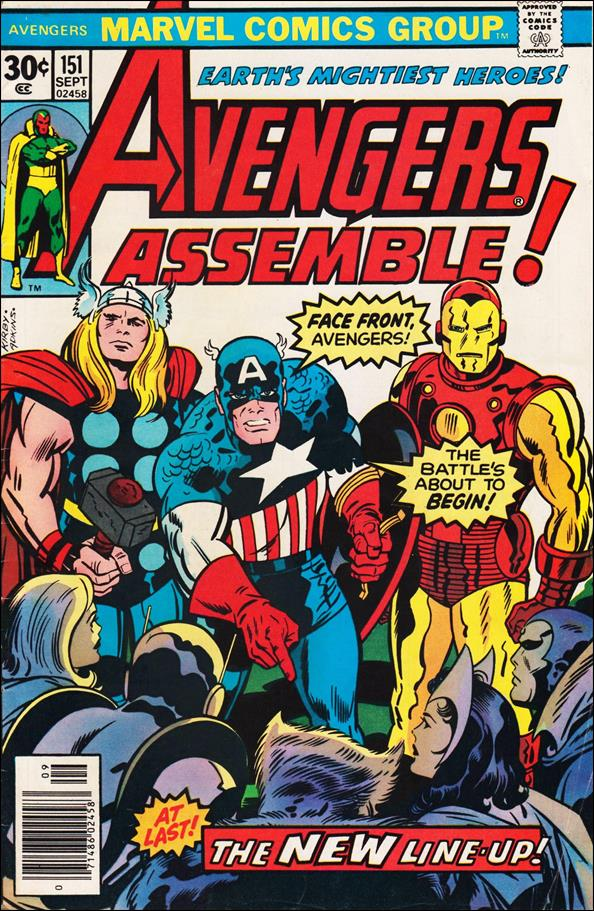 Avengers (1963) 151-A by Marvel