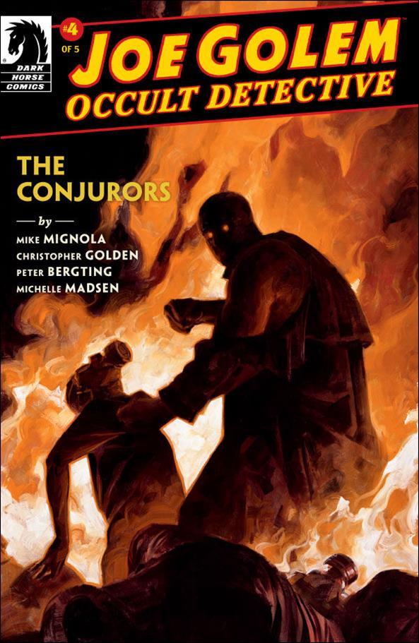Joe Golem: The Conjurors 4-A by Dark Horse