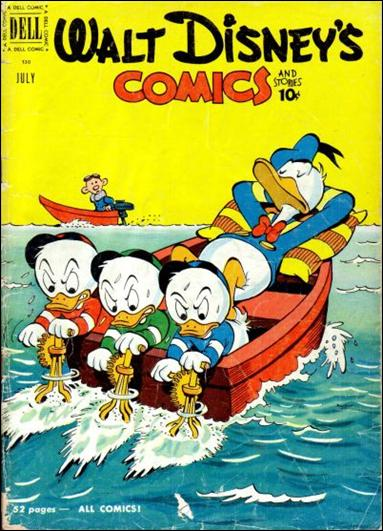 Walt Disney's Comics and Stories (1940) 130-A by Dell