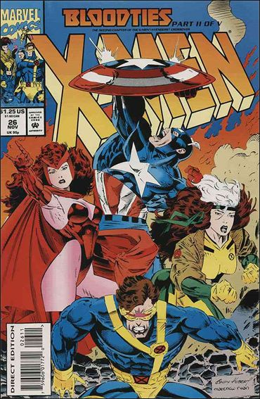 X-Men (1991) 26-A by Marvel