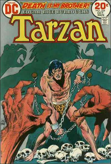 Tarzan (1972) 224-A by DC