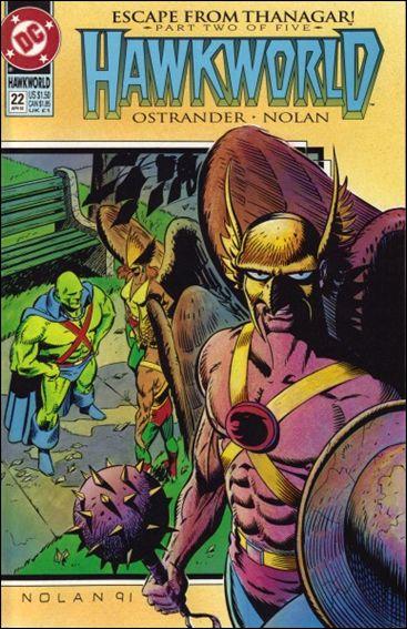 Hawkworld (1990) 22-A by DC