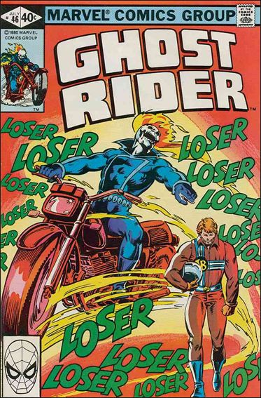 Ghost Rider (1973) 46-A by Marvel
