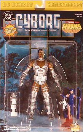 New Teen Titans Cyborg  by DC Direct