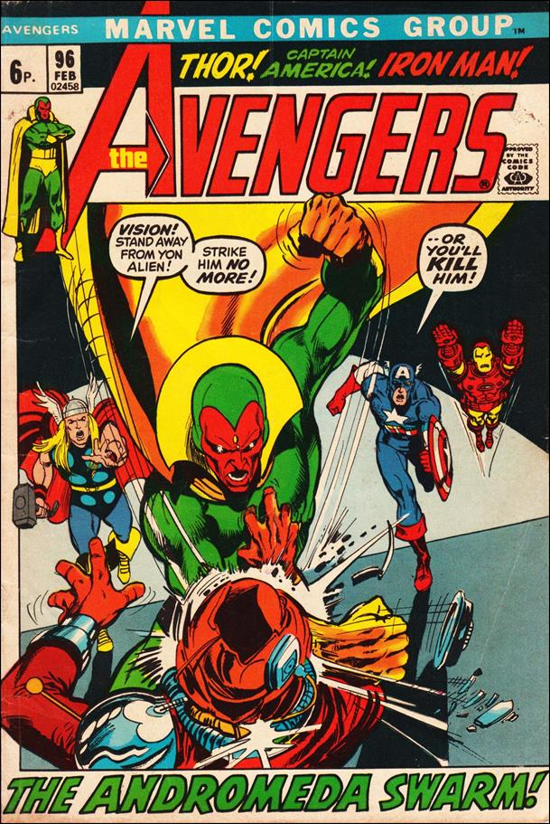 Avengers (1963) 96-B by Marvel