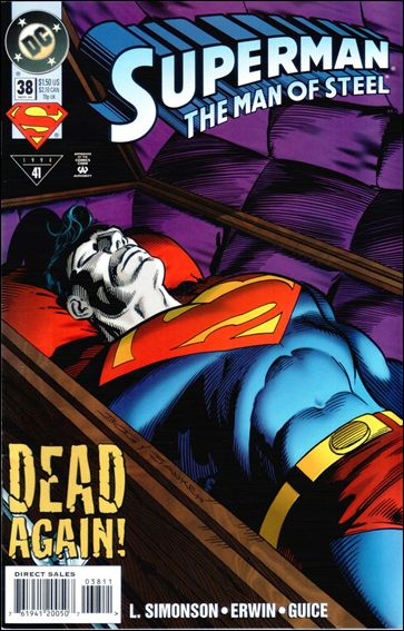 Superman: The Man of Steel 38-A by DC