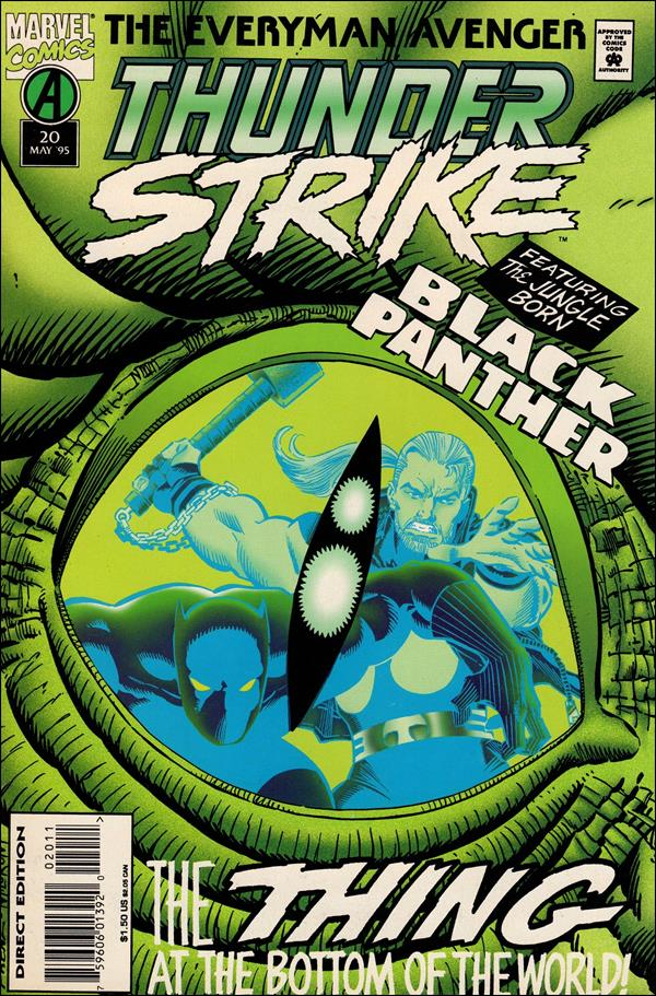 Thunderstrike (1993) 20-A by Marvel