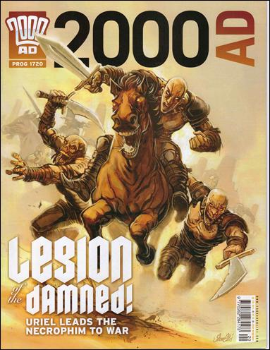 2000 A.D. (UK) 1720-A by Rebellion