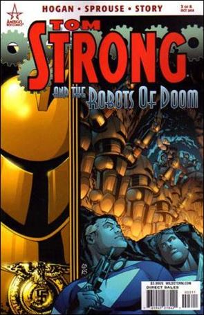 Tom Strong and the Robots of Doom 3-A