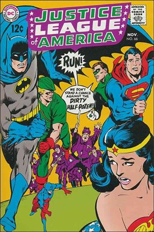 Justice League of America (1960) 66-A