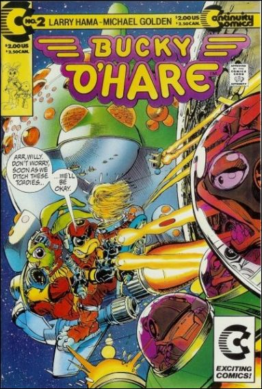 Bucky O'Hare 2-A by Continuity Comics