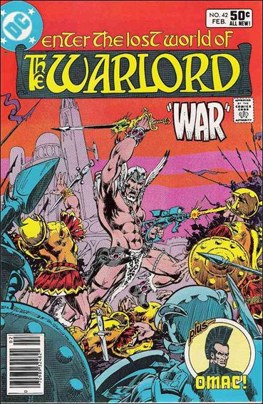 Warlord (1976) 42-A by DC