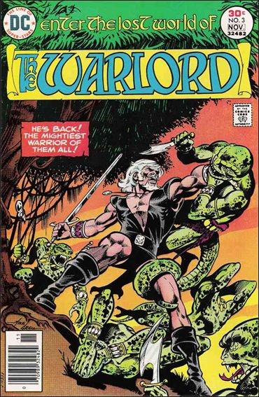 Warlord (1976) 3-A by DC