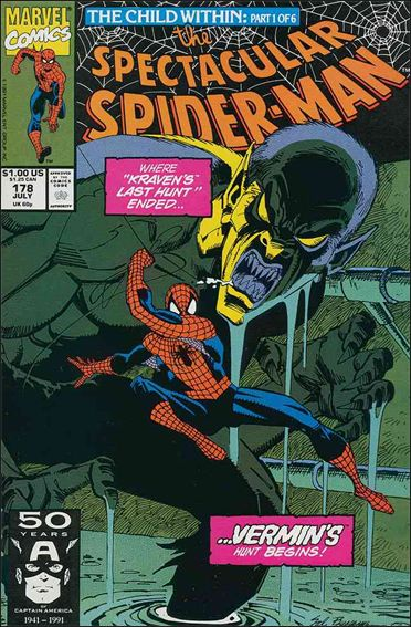 Spectacular Spider-Man (1976) 178-A by Marvel