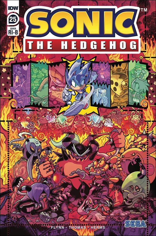 Sonic the Hedgehog (2018) 25-D by IDW