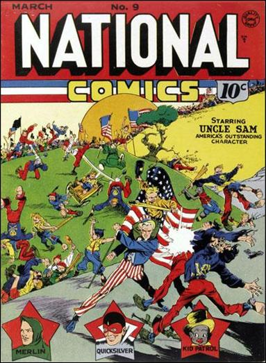 National Comics (1940) 9-A by Quality