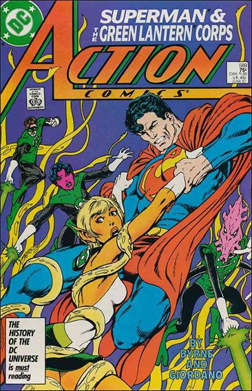 Action Comics (1938) 589-A by DC