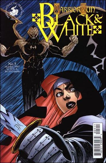 Warrior Nun: Black & White 5-A by Antarctic Press