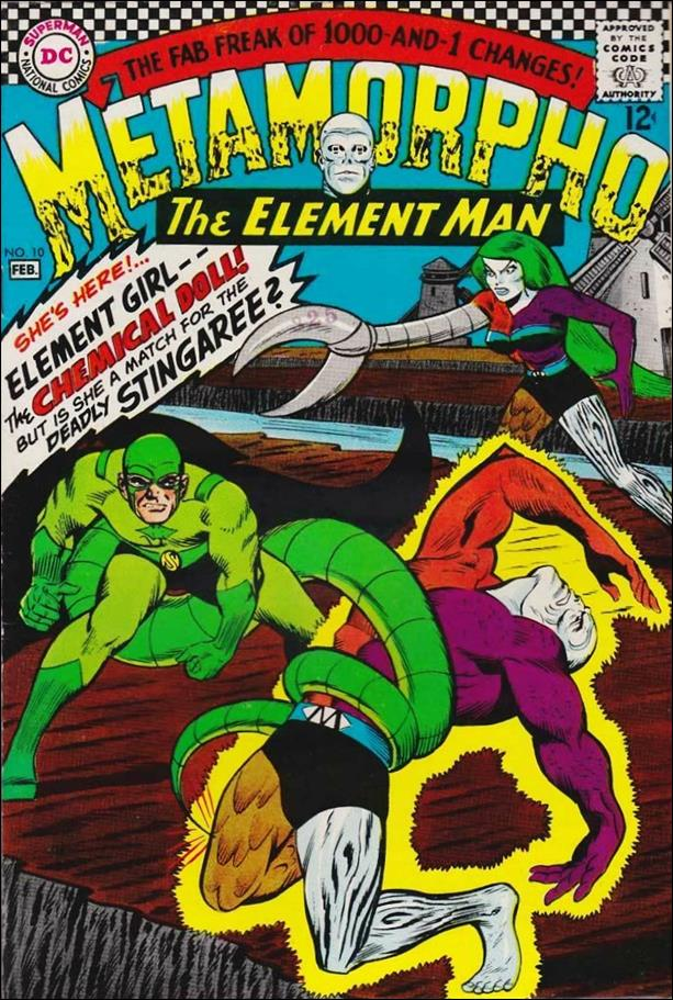 Metamorpho (1965) 10-A by DC