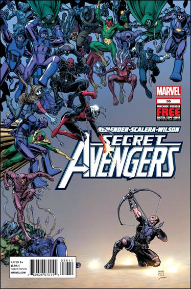 Secret Avengers (2010) 36-A by Marvel