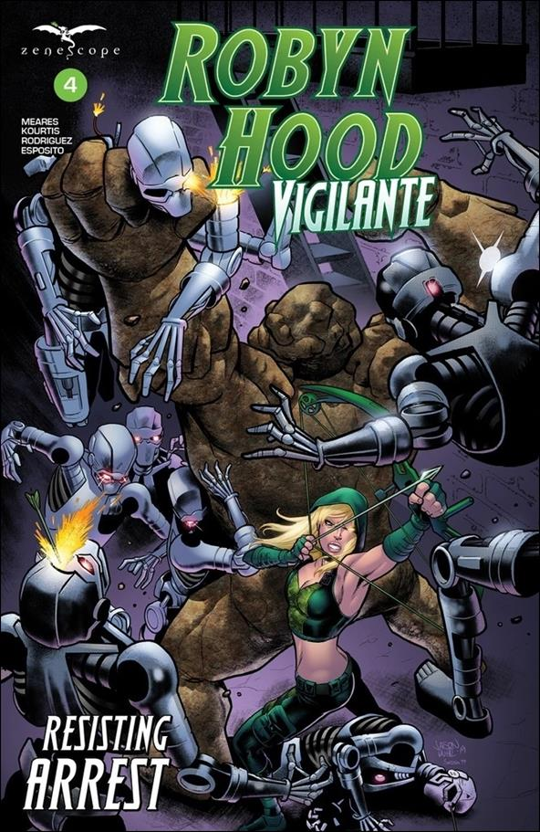 Robyn Hood: Vigilante 4-B by Zenescope Entertainment