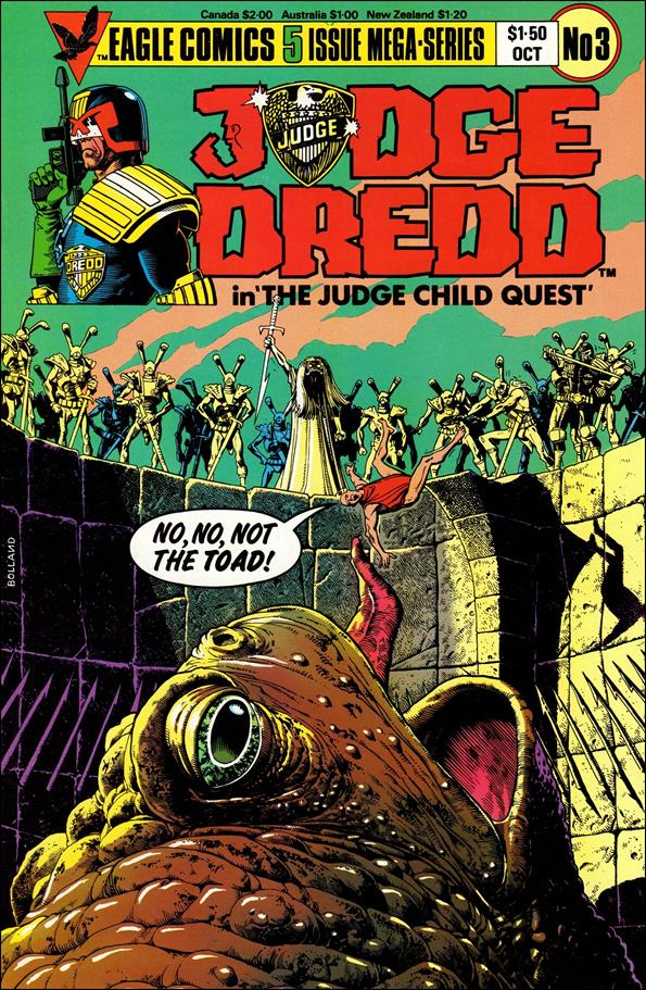 Judge Child 3-A by Eagle Comics