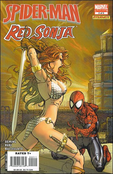 Spider-Man/Red Sonja 2-A by Marvel