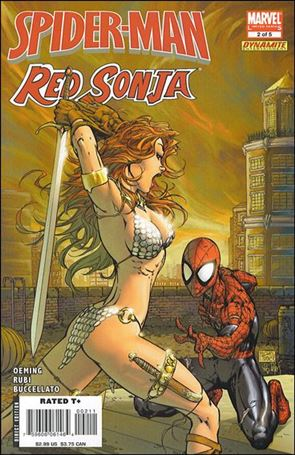 Spider-Man/Red Sonja 2-A