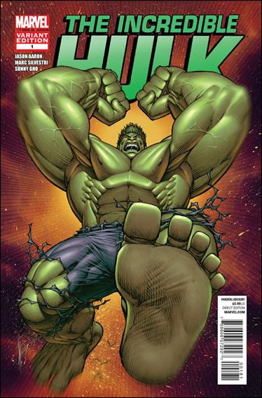 Incredible Hulk (2011)  1-D by Marvel